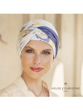 Turbante Shakti Graphic Zebra · Christine Headwear · Bambú