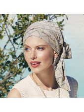 Pañuelo Beatrice Indian Taube · Christine Headwear · Lino