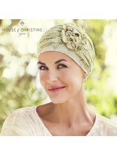 Turbante Lotus Blooming Season · Christine Headwear · Lino