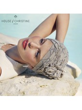 Turbante Lotus Indian Taube · Christine Headwear · Lino