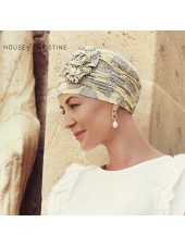Lotus Summer Lemons · Christine Headwear