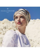 Turbante Shakti Caramel Dreams · Christine Headwear · Lino