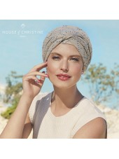 Turbante Shakti Indian Taube · Christine Headwear · Lino