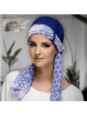 Pañuelo Twin Chic Azul (base+foulard)
