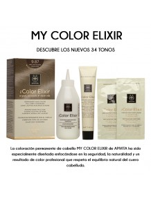 MY COLOR ELIXIR · Tintes naturales sin PPD
